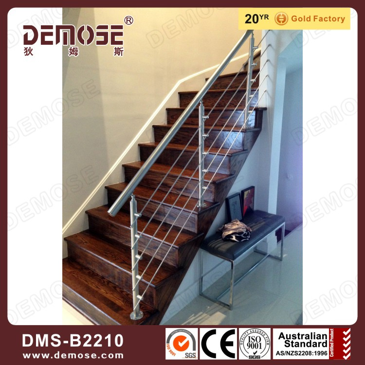 Collapsible Stairs Grill Railing Design