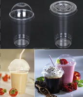 ice cream cup with lids,customed printing logo plastic ice cream cup and lids