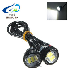 Coche impermeable nuevo 3SMD 5630 <span class=keywords><strong>LED</strong></span> ojo de águila <span class=keywords><strong>led</strong></span> drl luz corriente diurna