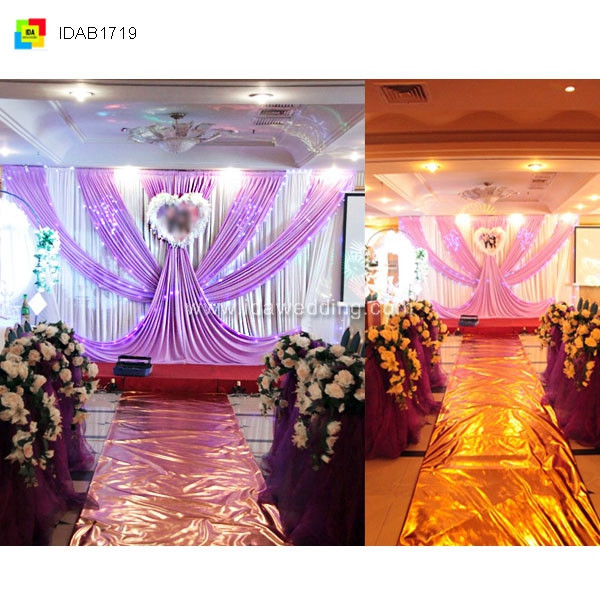 Wedding stage backdrop decoration indian wedding stages for Background decoration for indian wedding