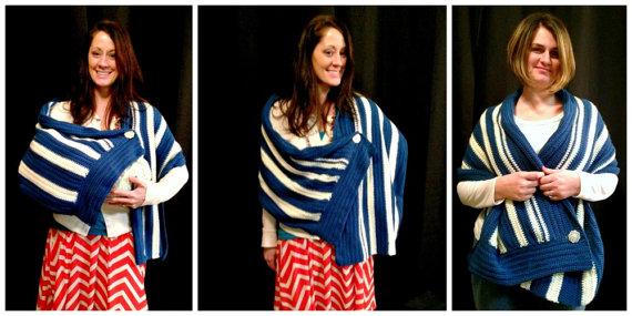 Wholesale Women Shawl Baby Nursing Cover Pattern Crochet Nursing