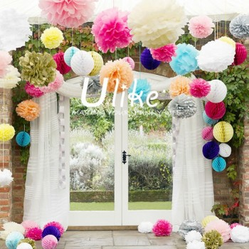 Party colored decoration honeycomb paper ballswedding decoration party colored decoration honeycomb paper ballswedding decoration paper honeycomb junglespirit Choice Image