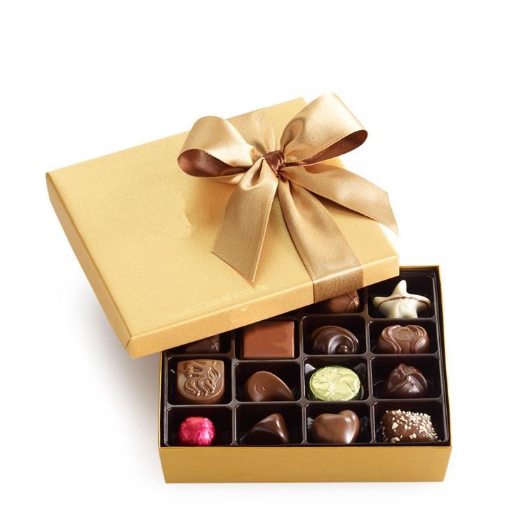 Qualidade superior preço de atacado Eco papelão design personalizado divisor de papel caixas de embalagem de chocolate