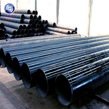 Piling Pipe with Flange, A588 Piling Pipe, 50 Ksi Piling Pipe