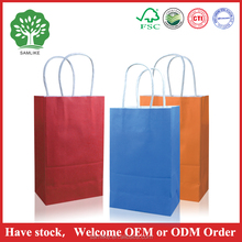 raw materials small white kraft paper bag guangzhou manufacture