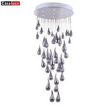 Splendid chrome color 56bulbs orb chandelier