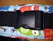 Infants And Baby Head Support Pram Stroller Safety Seat Fastening Belt Adjustable Playpens Sleep Positioner