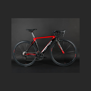 Light aluminum 700C race 20s road bicycle with carbon fork