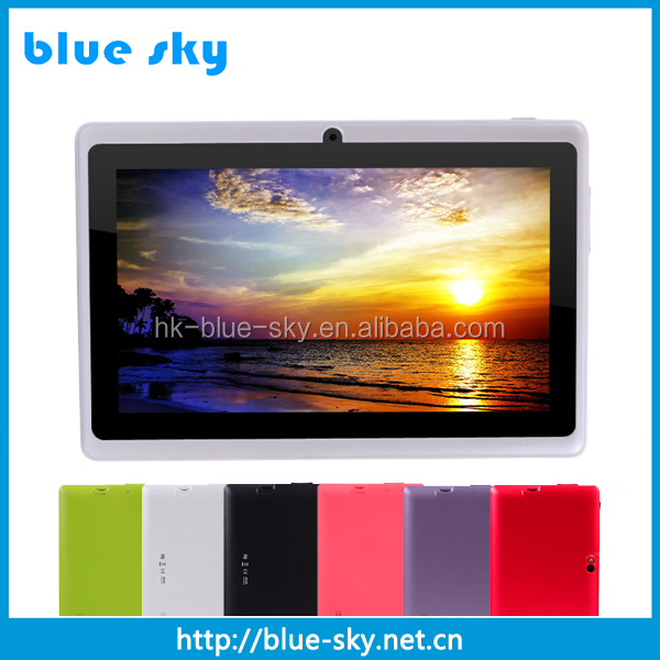 Plastic housing 7 inch quad core wifi tablet pc