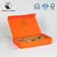 High Quality Orange Cardboard Paper Gift Box with Custom Printing