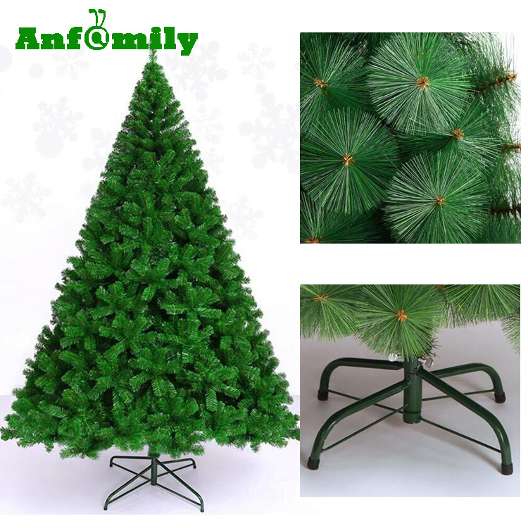 Collapsible Artificial Christmas Trees: 2017 Artificial Christmas Tree Folding Pine Needle Xmas