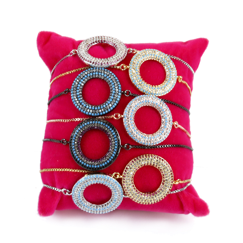 Sparkling Cubic Zirconia Bracelet For Girl Friend