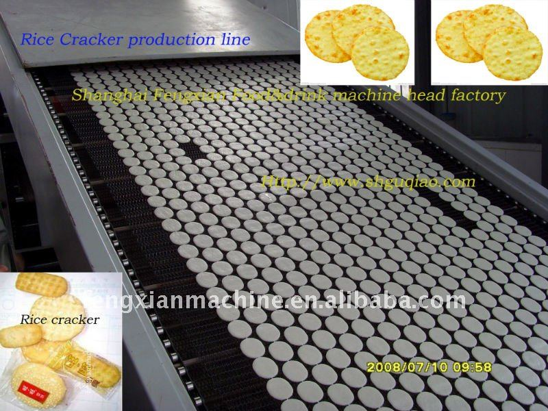 Rice crackers sweet full automatic production line