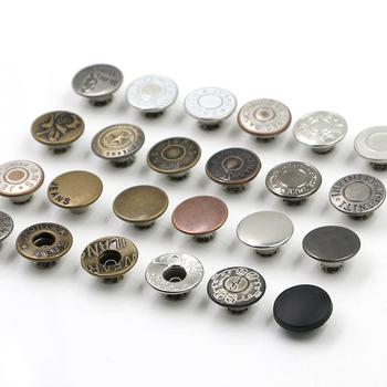 marcas reconocidas disfruta del precio de descuento en stock De Metal De Alta Calidad De Lujo Botones Vaqueros/metal Pantalones Botones  Para Accesorios De Prendas De Vestir/bk-but482 - Buy Botones De Metal De ...