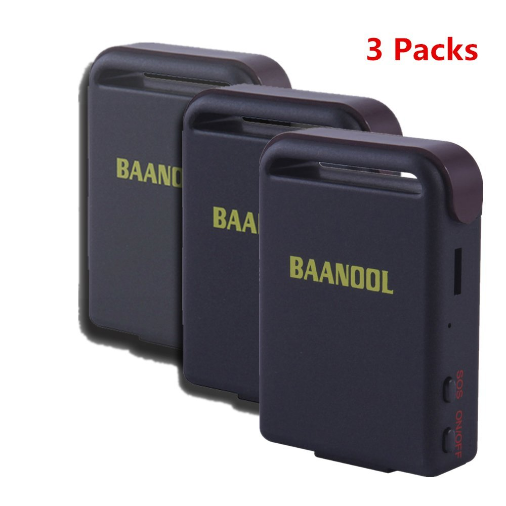 Mini GPS Tracker BAANOOL Vehicle Car GPS Tracker Portable Real Time GPS Tracker for Vehicles GPS/GPRS/GSM Personal GPS Locator for IOS / Android Mobile Phones