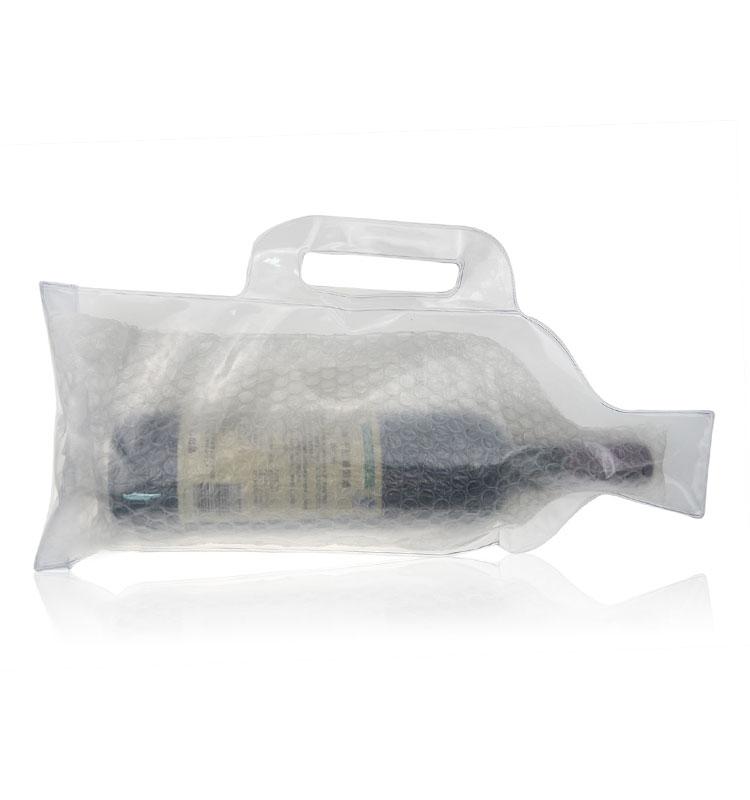 Best Selling Produtos 2018 Nos EUA Amazon Odre Protetor de Transporte Garrafa De Vinho Reutilizável Saco de Empacotamento da Bolha