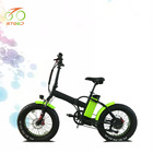 Large power steel frame foldable electric mountain bike fatbike 500 with ce