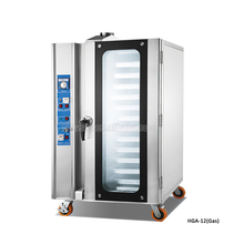 Commerciale aria Calda 12 vassoi di Pane in acciaio inox <span class=keywords><strong>Forno</strong></span> <span class=keywords><strong>A</strong></span> <span class=keywords><strong>Convezione</strong></span> per panificazione uso