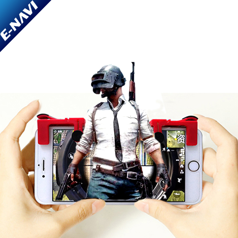 HOT Handle Shortcut Keys To Assist Mobile phone/ Android Shooting Artifact Auxiliary Game Controller For PUBG