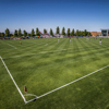 Earth friendly customized 60mm football ground grass for sports