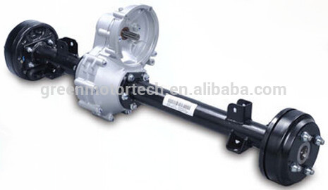 Electric Golf Cart Motor Kit With Rear Axle Differential