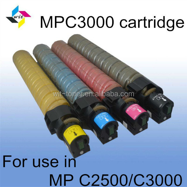 Hot selling!compatible Copier Toner Cartridge for Ricoh Aficio MPC2500 MPC3000