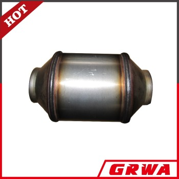 Universal ceramic honeycomb catalytic converter for car