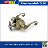 3701 New Design Hotel Safety Tubular Zinc Alloy Lever Handle Door Lock