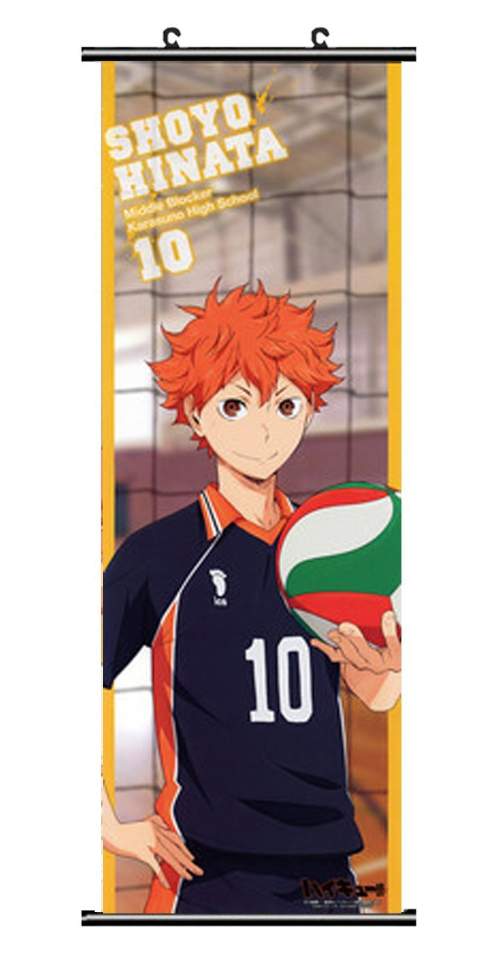 Buy Cosenter Anime Haikyuu Hinata Syouyou Poster Scroll Wall