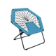 hot sell competitive product easy-carry leisure relax folding portable round bungee purple living room lounge comfort alum chair