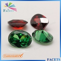 Wuzhou Facets Gems Wholesale High Quality Emerald Stone Zambian Oval Shaped Emerald Rough for Sale