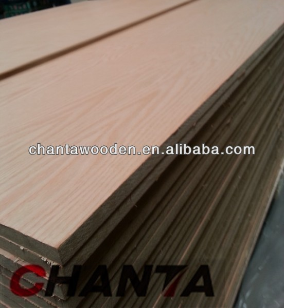 18mm red oak veneer MDF