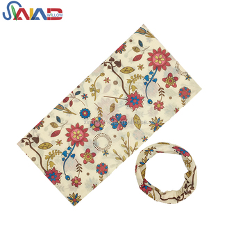 Best selling women hair accessories party scarf seamless bandana