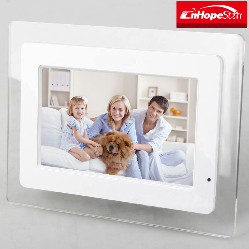 "Good quality 13"" inch wide screen lcd / led digital photo frames"