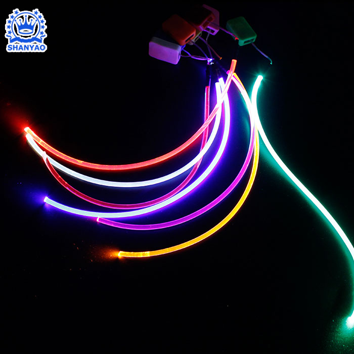 Battery Operated Custom 3 volt Led Strip As Decorative For Clothing Bag Hat