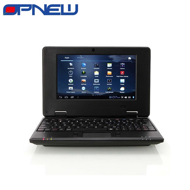 7 INCH Cheap dual core Mini laptop Netbook Notebook PC with Android 4.4 WM8880 cpu HDM Camera OPNEW 6 Colors in STOCK now