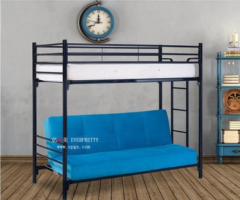 Strong Military Metal Folding Bunk Bed For School Hostel