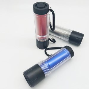 Beautiful battery operated small aluminum 9led light pocket flashlight glowing in the dark, best cheap flashlight