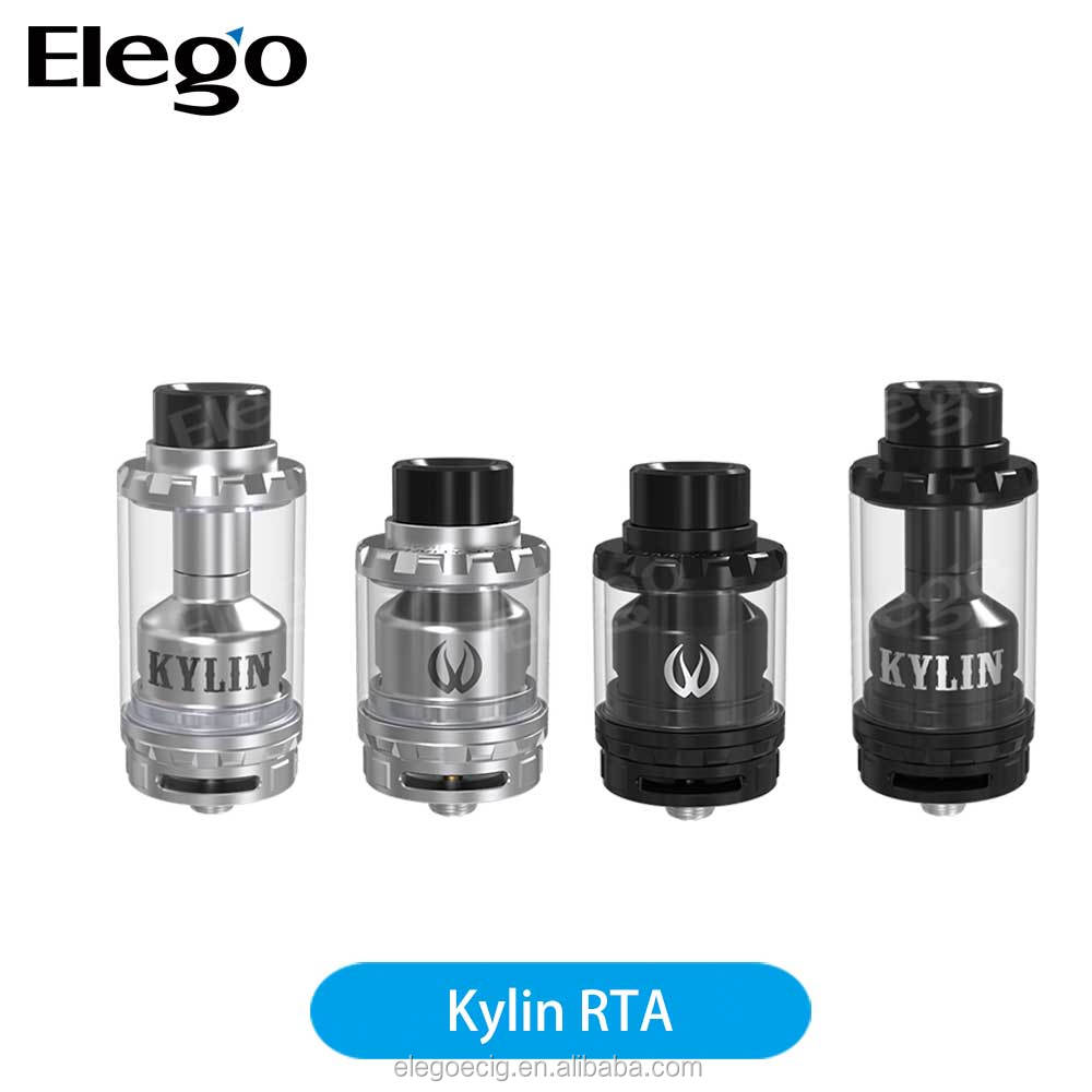 2017 Elego wholesale Top selling Vandy Vape Kylin RTA with 2ml/6ml Capacity