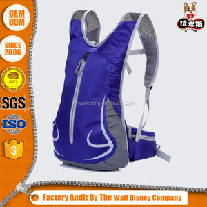 men hiking mountain bags hydration backpack cheap with EVA/TPU water baldder