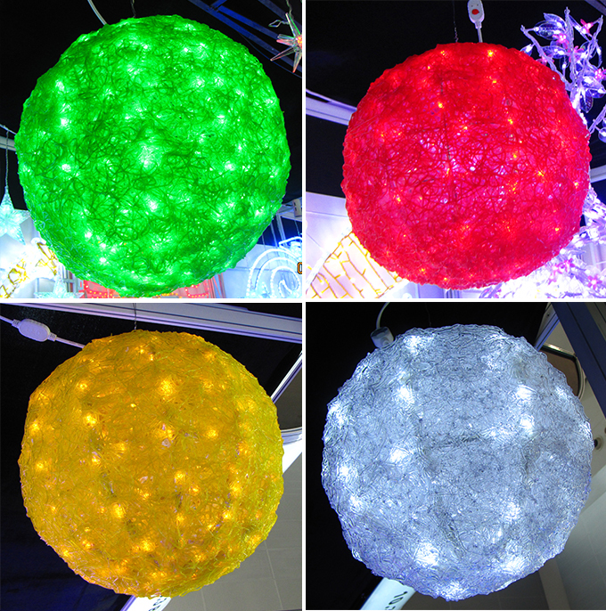 Grote Outdoor Led Verlichte Kerstbal - Buy Kleur Veranderende Led ...