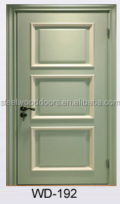 Solid Wooden Front Door Designs Used For Interior Door, View front ...
