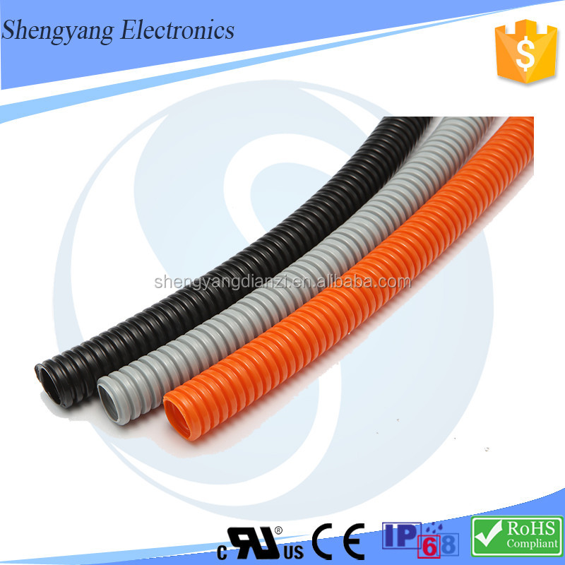 china suppliers pipe threading machine hdpe pipe prices 3'' PA66 corrugated pipe