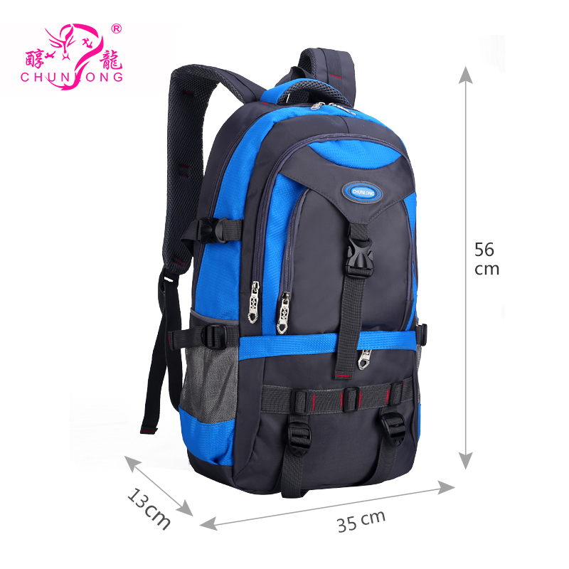 Outdoor Sports Waterproof Nylon Backpack for Camping Hiking