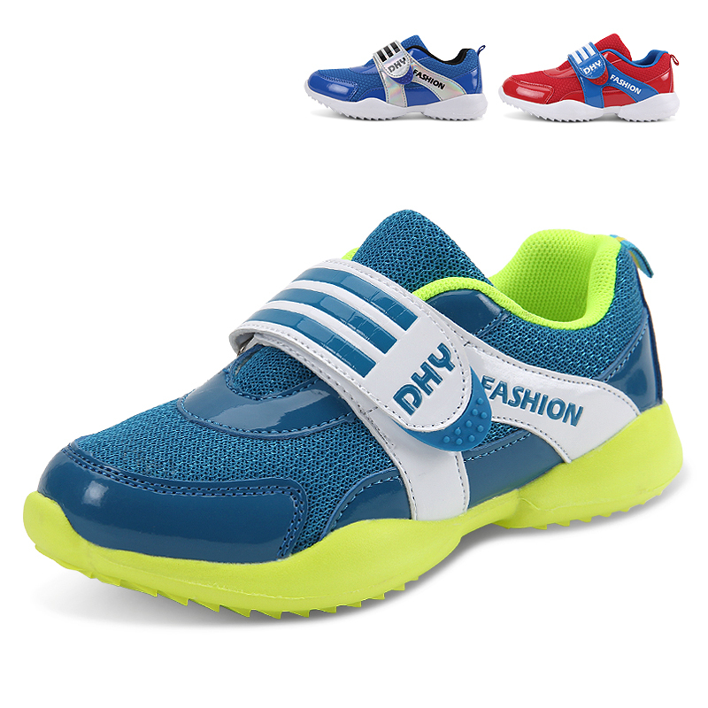 2015 new hot sale children's shoes for boys and girls running shoes breathable shoes kids brand sneakers