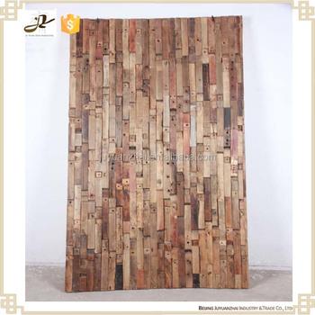 Rustic Antique Wood Wall Decor Panel