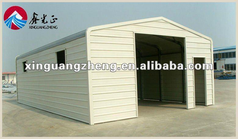 structure en acier pr fabriqu garage abri entrep t. Black Bedroom Furniture Sets. Home Design Ideas