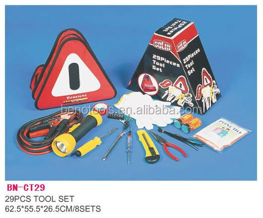Auto tool kit and roadside emergency assistance tool from Fenghua facotry
