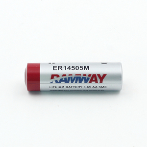Power type li-socl2 3.6v aa lithium primary battery er14505m energizer battery