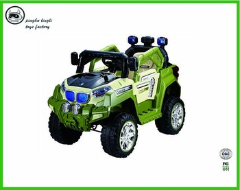 Ll 9688 Pinghu Lingli Baby Ride On Car Baby Toy Jeep With High